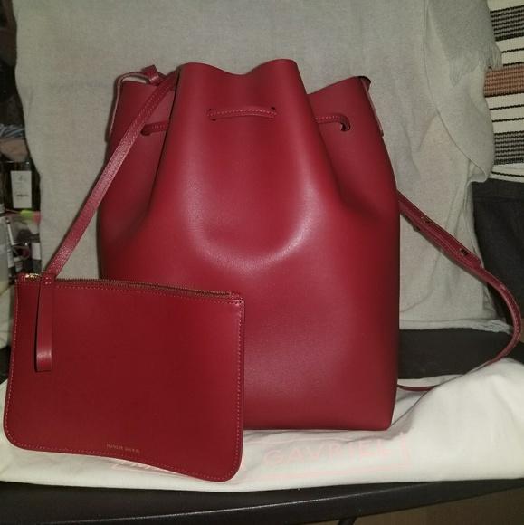 4ab1347545cf Mansur Gavriel Large Bucket bag - Rococo